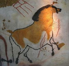 cavetocanvas: Horse from LascauxCave, c. 15,000 BCE