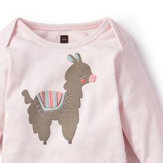 Alpaca Linda Graphic Bodysuit | 'Alpaca linda' means 'cute alpaca' in Spanish, and that's exactly what this little sweetie is.