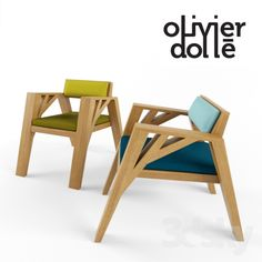 Fauteuil Carpenter by Olivier Dollé