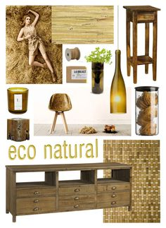 """Eco Natural"" by ladomna ❤ liked on Polyvore featuring interior, interiors, interior design, home, home decor, interior decorating, Volcanica, Menu, Besa Lighting and Threshold"