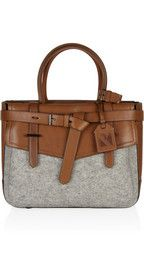 Reed KrakoffBoxer leather and felt tote
