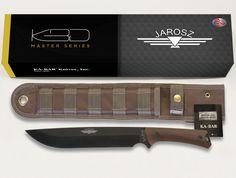 "KA-BAR / 7507 Jarosz Large CHOPPA Fixed Blade Knife Weight: 1.0                                     Overall length: 15.0"" Blade Length: 9.875""                    Blade Shape: Clip Blade Mark: KA-BAR/Jarosz Steel: 1095 Cro-Van                      Thickness: 0.1875"" Edge Angle: 20                              Grind: Flat HRC Rating: 56-58                       Handle: Ultramid Made: USA Knife comes with a polyester MOLLE-compatible sheath. www.tomarskabars.com"