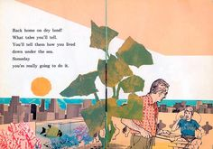 Illustrations by Ward Brackett from the 60s