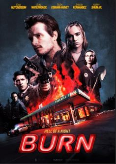 Burn - Movie Release Dates / Trailer / Details / Poster - Thriller Movie: Synopsis: When a gas station is held at gunpoint by a desperate… Dramas, Gas Station Attendant, Michael Angarano, Movie Synopsis, Nicholas Hoult, Opening Credits, Movies To Watch Online, Watch Movies, Randal