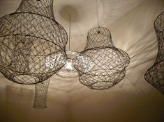 paper clip chandelier (I actually bought the instructions...and am making my son do it!)