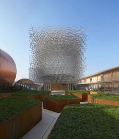 Architecture UK Pavilion at Expo Milano 2015, Milano, Wolfgang ButtressGrown in Britain & Northern Ireland Milano, Italy / 2015 #architecture
