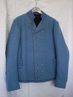 Pánský kabát, Luhačovické Zálesí.Folk clothing from Luhačovické Zálesí (Czech Republic).