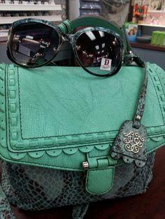 Green sunglasses Diaper Bag Purse, Diaper Bags, 50 Shades, Shades Of Green, Green Purse, Go Green, Envy, Women Accessories, Backpacks