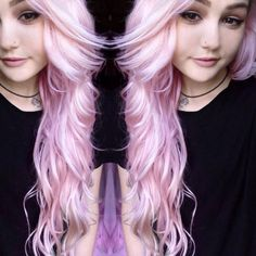 Arctic Fox Virgin Pink Hair Dye Mixed With Their Diluter. (Cruelty Free And Vegan)
