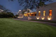 Modernes Beton-Haus Hacienda Bacoc Yucatan-Moderne Architektur restauriertes-Mauerwerk