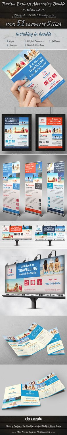 Tourism Business Advertising Bundle | Volume 2