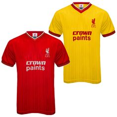 Two Liverpool fc crown paint shirts new