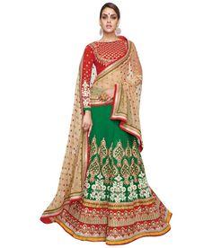 Naksh - EXCLUSIVE DESIGNER WOMENS INDIAN STUNNING TRADITIONAL ETHNIC WEDDING GREEN LEHENGA CHOLI