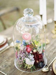 Bohemian wedding centerpiece / http://www.himisspuff.com/rustic-wedding-centerpiece-ideas/9/