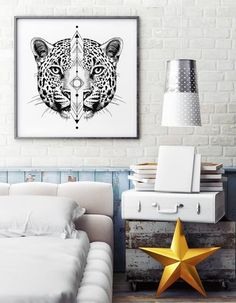 Panther by Wieprz Design Studio. #cat #poster #interior #sketch