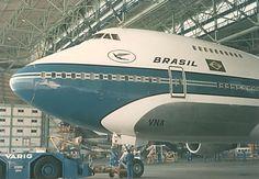 Varig Brazilian Airlines Boeing 747-241B (registered PP-VNA)