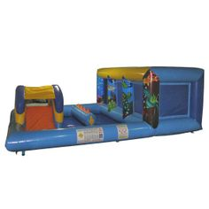 Playzones, Ball Ponds & Soft Play : Play and Bounce Zone AQ3296 www.airquee.co.uk
