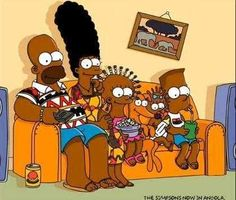 An Angolan advertising agency has given Homer Simpson and his family an African makeover, raising eyebrows among fans of one of America's most cherished sitcoms.                                                                Even Homer's cherished beer has been replaced by Cuca, the Budweiser of Angola.                                                                                Simpsons, the African way? The first thing that comes to mind is - is it racist? No! Simpsons represent the…