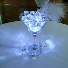 Cocktail table centerpiece