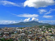 a perfect day at Manado  the capital city of Sulawesi, Indonesia