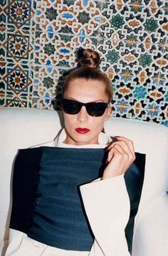 The 30 best red nails of all time: Daria Werbowy for Celine