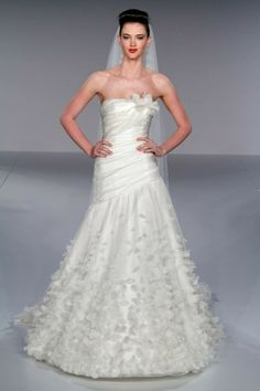 Kleinfeld Bridal carries the largest selection of couture wedding dresses, designer exclusives, plus size wedding gowns, headpieces and accessories. Plus Size Wedding Gowns, Bridal Wedding Dresses, Wedding Dress Styles, Tulle Wedding, Spring Wedding, Wedding Bells, Wedding Dress Gallery, Wedding Inspiration, Wedding Ideas