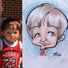#caricature s in #shelbymichigan on a sunny #saturday