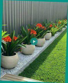 Small Backyard Design, Backyard Garden Design, Small Backyard Landscaping, Modern Landscaping, Backyard Designs, Landscaping Design, Fence Design, Small Patio, Backyard Projects