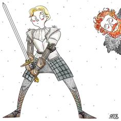 Hahaha! Go Tormund, have giant babies with her!