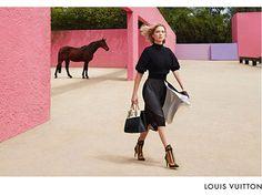 Lea Seydoux Louis Vuitton Ad Campaign Image