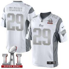 NikePatriots  29  LeGarrette  Blount White  SuperBowl LI 51 Men s Stitched  NFL c4d2d9c56