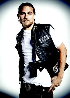 Charlie Hunnam  as Jax Teller...SEXY!