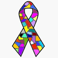 Awareness posters & Ribbons for PTSD, Dissociative Identity Disorder, trauma and abuse
