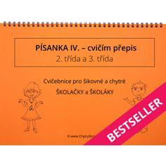 Písanka IV. Cvičím přepis Best Sellers, Dyslexia