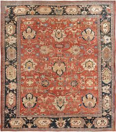 Persian Sultanabad Ziegler rug, J.H. Minassian gallery