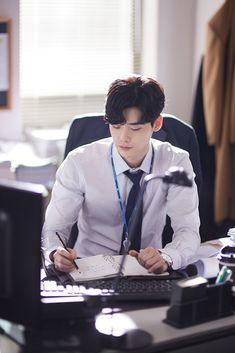 Lee jong suk ❤❤ while you were sleeping drama ^^ Lee Jong Suk Cute, Lee Jung Suk, Asian Actors, Korean Actors, Lee Jong Suk Wallpaper, Up10tion Wooshin, Jinyoung, W Two Worlds, While You Were Sleeping