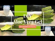 How to Make Aloe Vera Gel: 8 Steps (with Pictures) - wikiHow Aloe Vera Skin Care, Aloe Vera Face Mask, Gel Aloe, Aloe Vera Gel, Skin Care Regimen, Skin Care Tips, Beauty Hacks Skincare, Beauty Tricks, Beauty Hacks For Teens