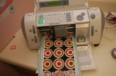 How to Cut Fabric with a Cricut...TOTALLY GOING TO TRY THIS!!!!!!