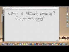 What is affiliate marketing and how does it work - Can you make any money? - http://www.moneydm.com/what-is-affiliate-marketing-and-how-does-it-work-can-you-make-any-money/