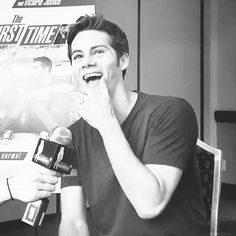 Dylan being adorable (gif)