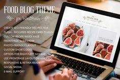 Check out Food Blog - Modern WordPress Theme by Nimbus Themes on Creative Market
