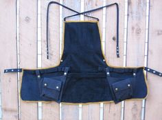 RESERVED for Toni Woman At Work Apron by ConsciousAlterations