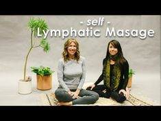 Self Lymphatic Massage - At Home. This is part two of a three part series in which our good friend, Lisa Gainsley will lead you through a self-care program f. Lymphatic Drainage Massage, Lymphatic System, Massage Techniques, Fitness, Medical Care, Massage Therapy, Health And Wellbeing, Yoga Flow, Natural Healing