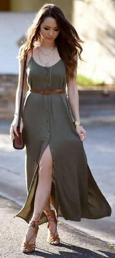 Olively (link:  http://www.lulus.com/products/friday-i-m-in-love-olive-green-maxi-dress/291342.html )