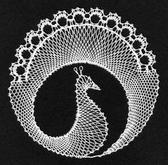 Bobbin Lace Patterns, Crochet Flower Patterns, Crochet Flowers, Knitting Patterns, Lace Earrings, Lace Jewelry, Lace Heart, Needle Lace, Tunisian Crochet