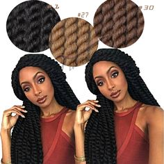 Cheap mambo twist crochet, Buy Quality havana twist crochet directly from China havana mambo twist crochet Suppliers: Fashion Havana Mambo Twist Crochet Pretwist Hair Havana Twist Crochet Braids Afro Extension Havana Mambo Twist Havana Mambo Twist Crochet, Crochet Twist, Twist Braid Hairstyles, Crochet Braids Hairstyles, Synthetic Hair Extensions, Braid In Hair Extensions, Twist Box Braids, Twist Hair, Havana Braids