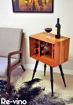 Home Decoration Homemade .Home Decoration Homemade Deco Furniture, Home Furniture, Furniture Design, Diy Casa, Wine Table, Home Remodeling Diy, Decorating Small Spaces, Bars For Home, Cheap Home Decor