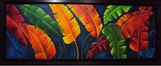 bibiana muñoz Arte Floral, Painting For Kids, Projects To Try, Africa, Leaves, Flowers, Ideas Para, Store, Gold