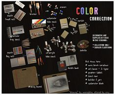 color correction - art supply deco (for hawke or fenris??)