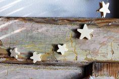 Guirlandes de Noël étoiles en bois à faire soi même